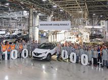 В России выросло производство легковых автомобилей