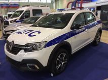 Renault Logan Stepway пошел служить в полицию, фото 1