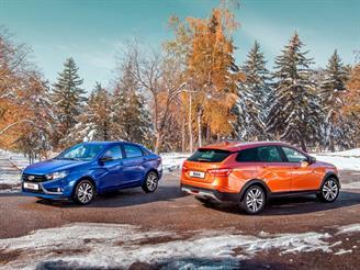 Lada объявила комплектации и цены обновленной Vesta с вариатором