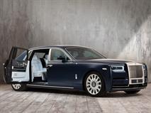 Уникальный Rolls-Royce получил вышивку с миллионом стежков