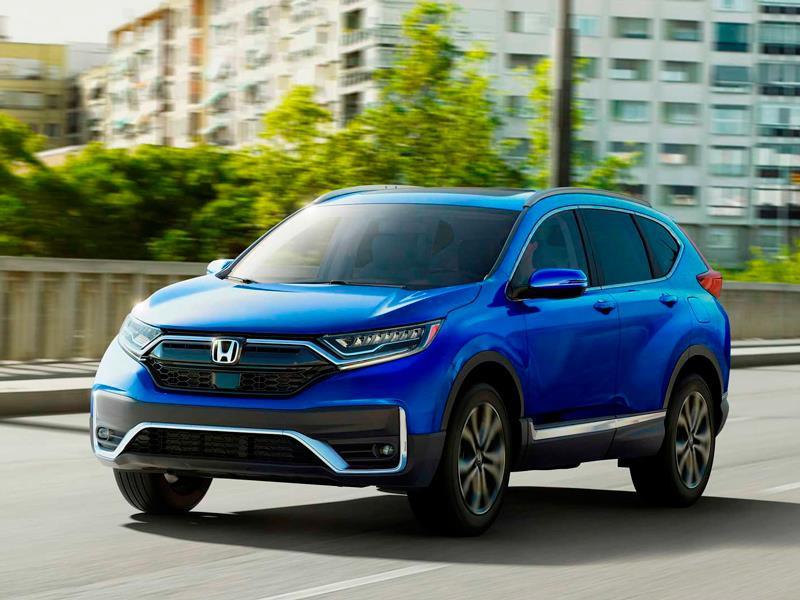 Honda привезет в Россию рестайлинговый CR-V