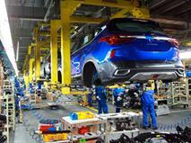 Легковой автопром России сократился на 2,5%