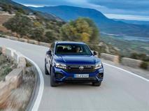 Volkswagen представил плагин-гибрид Touareg R