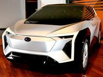 Раскрыты подробности об электрокроссовере Subaru, фото 1