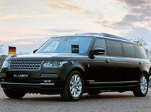 Range Rover стал двухместным броневиком-лимузином, фото 1