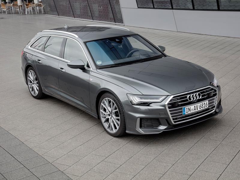 Новый универсал Audi A6 приедет в Россию в августе