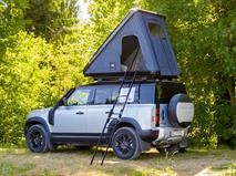 Land Rover укомплектовал Defender палаткой за 240 тысяч рублей