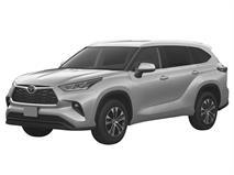 Toyota запатентовала в России новый Highlander, фото 1