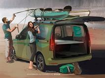 Volkswagen превратил новый Caddy в моторхоум, фото 1