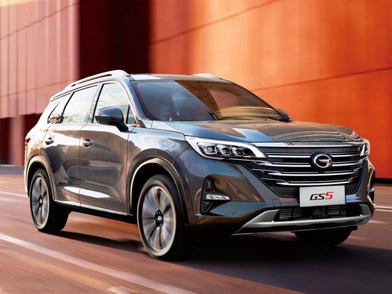 В России стартовали продажи китайского кроссовера GAC GS5