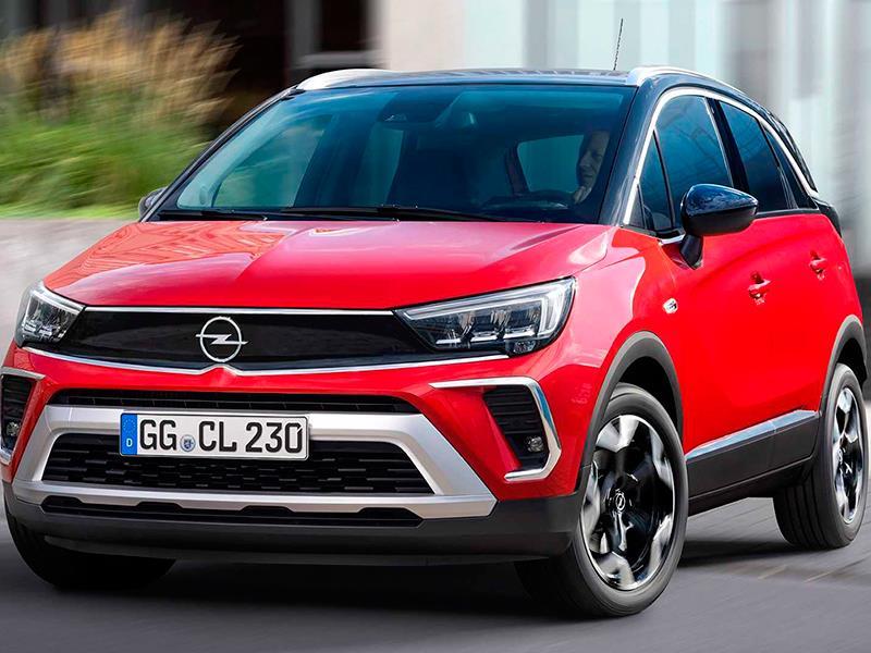 Opel Crossland стал похож на Mokka