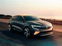 Представлена полностью электрическая Renault Megane