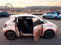Новый Fiat 500e стал асимметричным хетчбэком