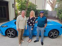 Сильвестр Сталлоне купил новый Corvette – раньше многих