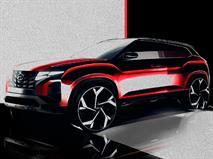 Посмотрите, как будет выглядеть новая Hyundai Creta после рестайлинга